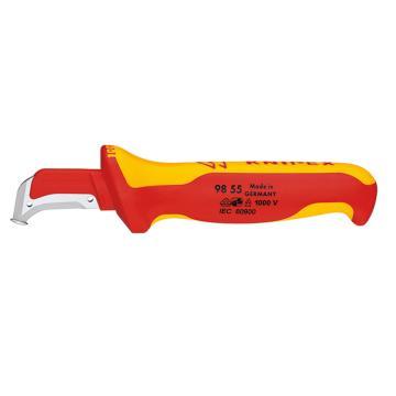 凯尼派克 Knipex 电工绝缘电缆刀,98 55