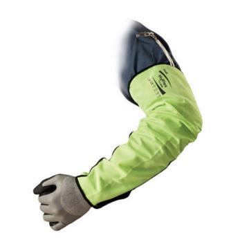 荧光色舒适型防割袖套,48cm,均码