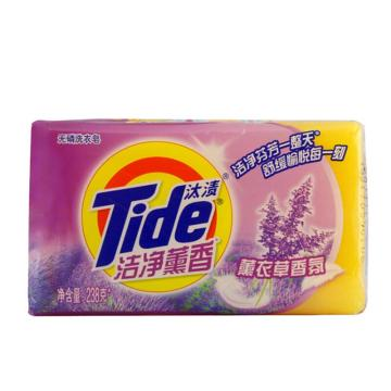 汰渍洁净薰香薰衣草香氛洗衣皂238克