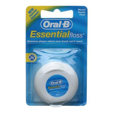 歐樂B50米微蠟牙線,82234046