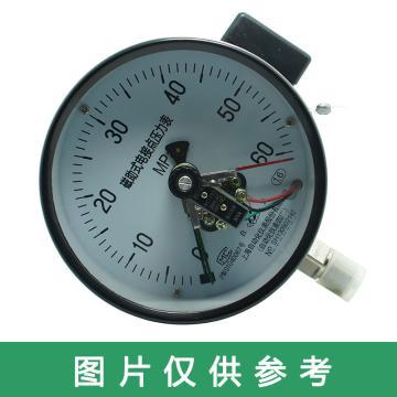 上儀 電接點壓力表YXC-150,全碳鋼材質,徑向不帶邊,Φ150,-0.1~0.9MPa,M20*1.5