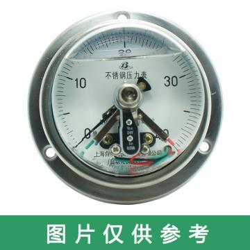 上仪 电接点压力表YXC-103,全碳钢材质,轴向前带边,Φ100,0~40MPa,M20*1.5