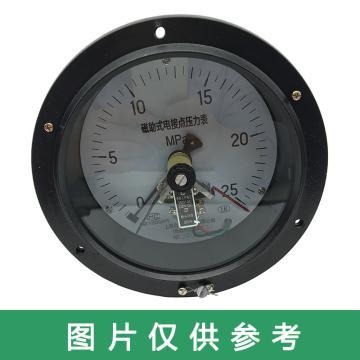 上仪 电接点压力表YXC-153,全碳钢材质,轴向前带边,Φ150,0~25MPa,M20*1.5