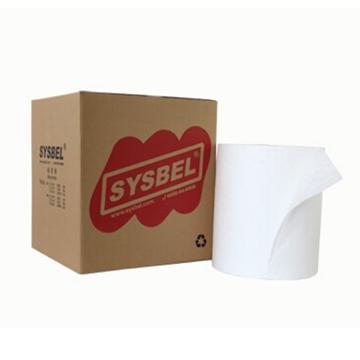 西斯贝尔SYSBEL 油类专用吸附棉卷,38.8cm×45.72m,SOR001,1卷/箱
