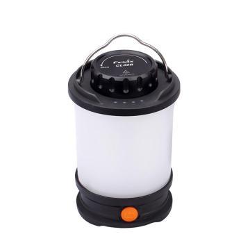 Fenix  CL30R高亮度可充放电露营灯 防水帐篷灯 黑色650流明 含O圈一个、Micro-USB 充电线、ARB-L18-2600mAh 18650电池3节(朔胶盒包装)