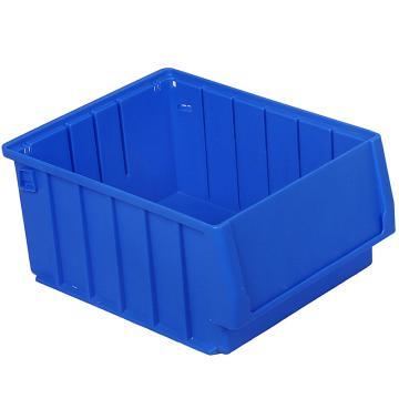 力王 多功能物料盒,300*234*140mm,全新料,深蓝色,PK3214A