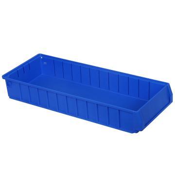 力王 多功能物料盒,600*234*90mm,全新料,深蓝色,PK6209A