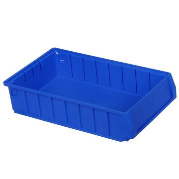 力王 多功能物料盒,400*234*90mm,全新料,深蓝色,PK4209A