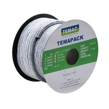碳纤维盘根,四氟浸渍,7100 8*8mm