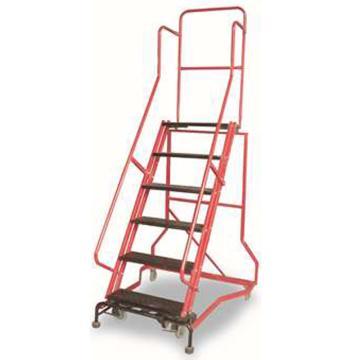 金锚 拆装式可移动登高平台梯,踏板数:5,额定载荷(KG):110,平台工作高度(米):1.29,HB4911G