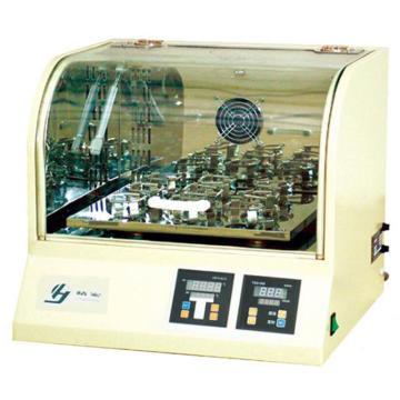 全温振荡器,落地式,摆板尺寸:440x440mm,控温范围:RT+5~50℃,THZ420