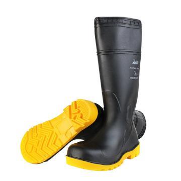 丽泰 防砸防刺穿耐油耐酸碱防化靴,桶高40cm,43