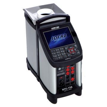 阿美特克/AMETEK RTC-158B干体/液槽两用温度炉,温度范围:-22~155℃,含DLC探头输入/参考探头输入/被检表信号输入,需另配套管使用