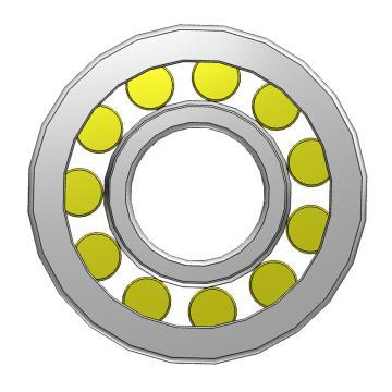 SKF单列圆柱滚子轴承,NU 236 ECML/C3