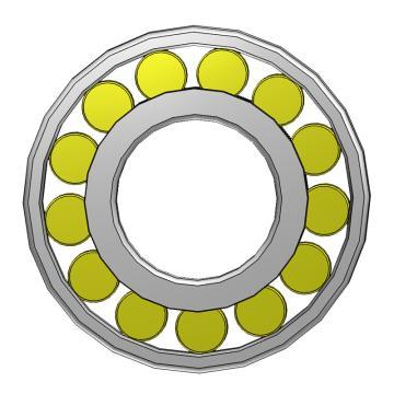 SKF单列圆柱滚子轴承,内*外*宽40*90*23,N 308 ECP
