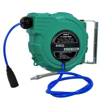 强生JOSON PU夹纱气管卷管器,Φ8xΦ12*15M,绿色,JON12Q0815/GN