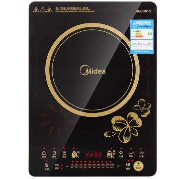 美的(Midea)电磁炉 家用多功能触摸大功率炒菜电池炉 RT2166