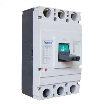 天普胜 塑壳断路器含分励脱扣,CM1 400/3300 400A 3P