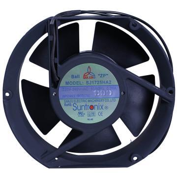三巨 散熱風扇,SJ1725HA2(橢圓型),220V,導線式,滾珠軸承,172×150×50mm