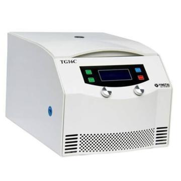 TG16C台式高速离心机,最高转速16000,最大容量6×100ml,主机