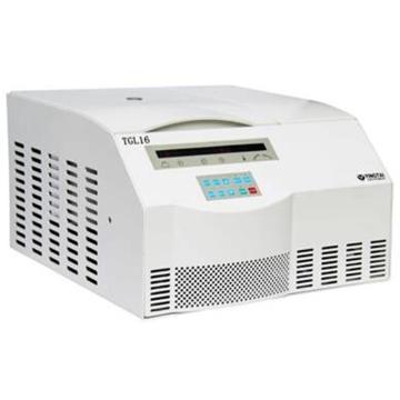 TGL16台式高速 冷冻离心机,最高转速16000,最大容量6×100ml,主机