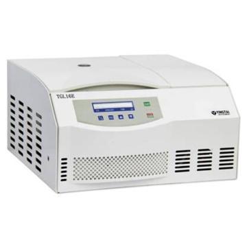 TGL16E台式冷冻离心机,最高转速16000,最大容量10×5ml,主机