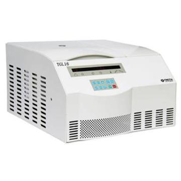 TGL16M台式高速 冷冻离心机(变频),最高转速16000,最大容量6×100ml,主机