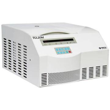 TGL20M 台式高速冷冻离心机(变频),最高转速21000,最大容量6×100ml,主机