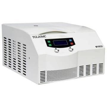 TGL20MC台式高速冷冻离心机(变频),最高转速21000,最大容量6×100ml,主机