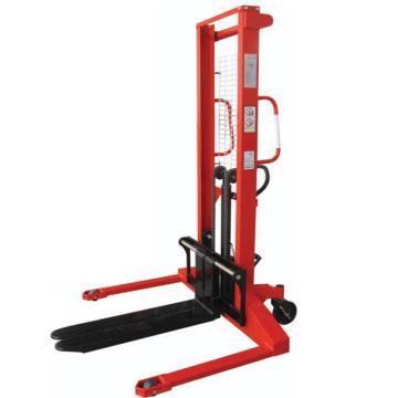 奥津 手动液压堆高车,额定载重(kg):1000,货叉起升高度(mm):1600,可调货叉尺寸(mm):(220~950)*900,型号:CTY1000-16