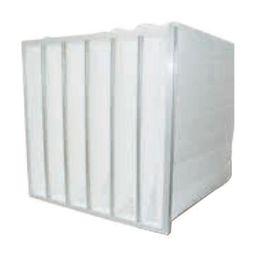 MayAir 铝框中效高容尘量袋式过滤器,宽*高*厚度592*592*550mm,过滤效率M6,板厚21mm,袋数8个
