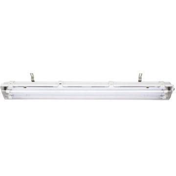 飞策 防爆防腐全塑支架灯 BYS-18x2 JDLED 吊链式 含LED T8双管1.2米单端 单管应急90分钟,单位个