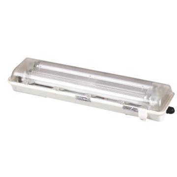 飞策 防爆防腐全塑支架灯 BYS-9x2 XLED 吸顶式 含LED T8灯管,0.6米 单端进电 双管,单位: