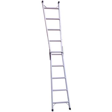 郑兴安 铝合金直马梯两用梯,1.75~3.15m 120kg,XE-6