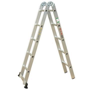 铝合金两关节梯,伸展长度(mm):3000,收缩长度(mm):1530