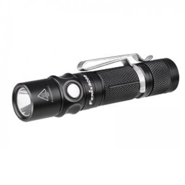 Fenix 户外便携磁吸防水LED手电筒,RC05黑色300lm含14500锂电池、充电线、双向抱夹,单位:个