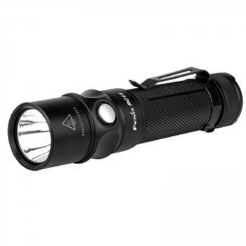 Fenix 菲尼克斯  RC11黑色 强光手电筒1000流明含18650锂电池、磁吸式USB充电线、抱夹、手绳、手电套、备用O圈各一个(塑胶盒包装)