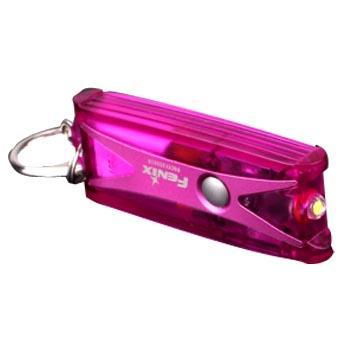 Fenix 菲尼克斯  UC01亮紫色 迷你钥匙扣小手电筒 USB直充45流明含钥匙扣1个,吸朔包装(不含电池和USB线)