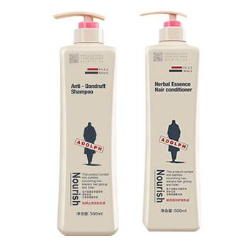 阿道夫袪屑止痒洗发乳+护发素500ml 各1瓶