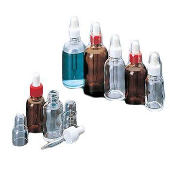 进口吸管瓶(圆形),RS-100(褐色),100ml