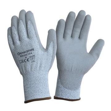 赢克尔 PU涂层3级防割手套,MS855154-8