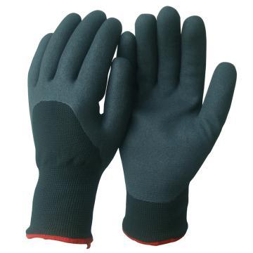 丁腈涂层保暖手套,尺码:9