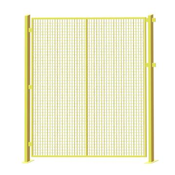 博储 立柱50*50*2.0mm,外框30*20*2.0mm,线径4.0mm,网格50*50mm,喷塑,黄色(安装费另询)