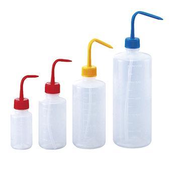 进口多色清洗瓶(细口),红色,容量100ml