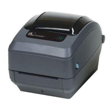 斑馬條碼打印機,GK420T+內網卡 單位:臺