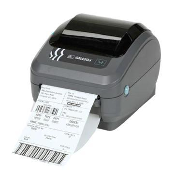 斑馬條碼打印機,GK420D+內網卡 單位:臺