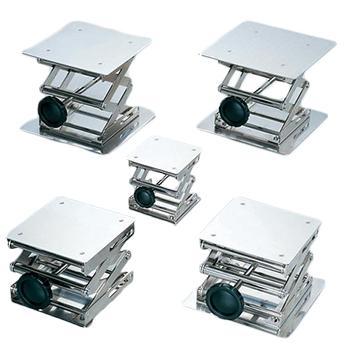 亚速旺 升降台,顶板×底座150×150mm,旋钮式