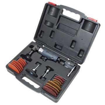 """英格索兰气动修磨机套装,重级直角式,1/4""""夹头,250W,302BK"""