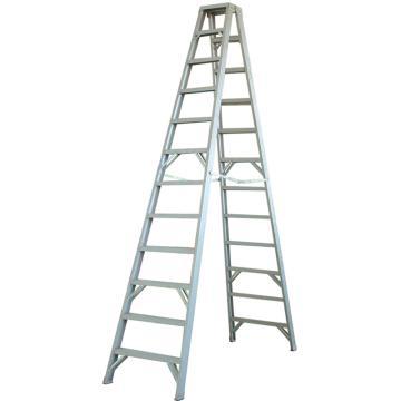 金锚 铝合金双侧梯,踏板数:4,额定载荷(KG):150,使用高度(米):2.86,AO31-204