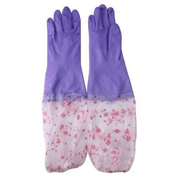 春蕾 PU防化手套,PU绒里手套 50cm